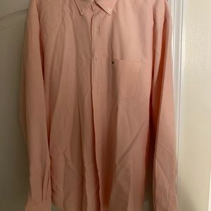 Lacoste size 44 men dress shirt regular fit